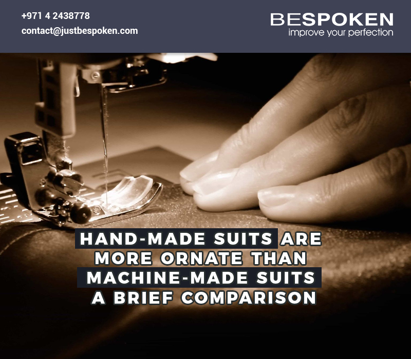 hand made suits for men