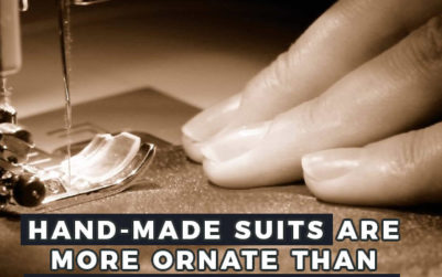 hand made bespoke suit