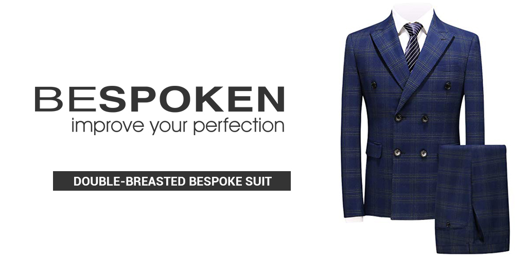 online Double-Breasted Bespoke Suit