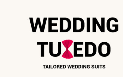 Tailored wedding tuxedo