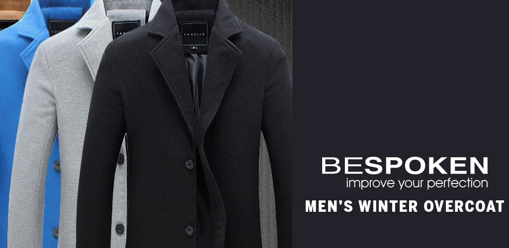 Mens Winter Overcoat