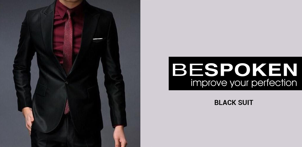 Bespoke Black Suit